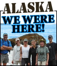 Visit Alaska We Were Here